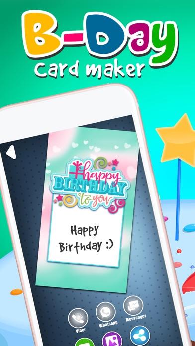Virtuelle Geburtstag Kartenhersteller - Alles Gute Zum Jubiläum mit Bunten Hintergrund und TextScreenshot von 1