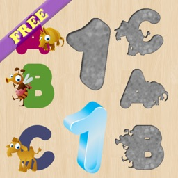 Alphabet Puzzles for Toddlers and Kids : Learn English ! FREE