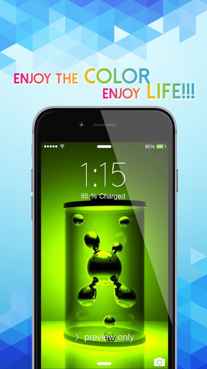 Amazing 3D Live Wallpapers & HD Backgrounds - 3D Images & Live Photos for Lock Screen Themes screenshot-4