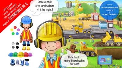 Screenshot #1 pour Tiny Builders - Camions, grues pour enfants