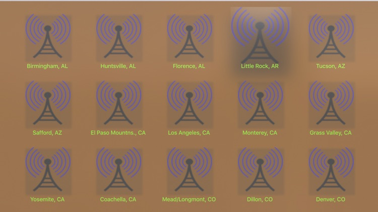 US NOAA Radios with NOAA Radar 3D Pro