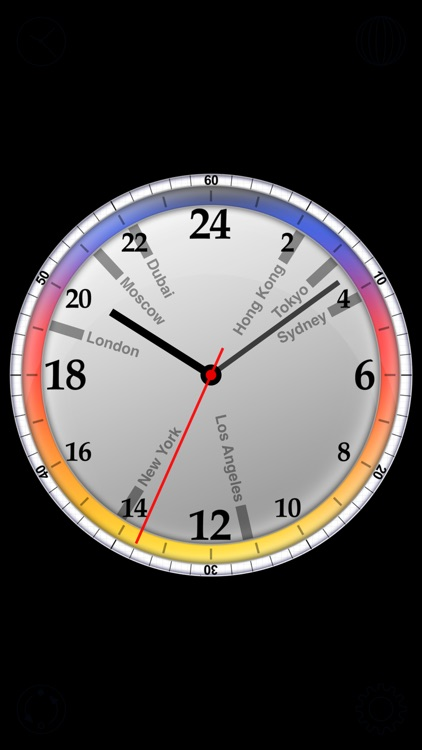 24h World Clock