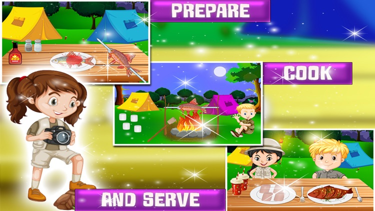 Summer Camp Cooking Story – Crazy fun & adventure game for kids screenshot-4