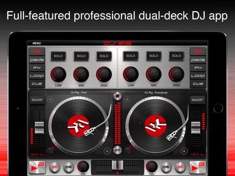 Screenshot #4 pour DJ Rig for iPad