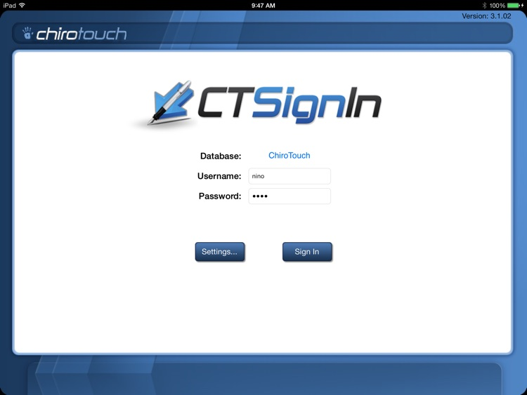 CT Sign-In Mobile 6.5