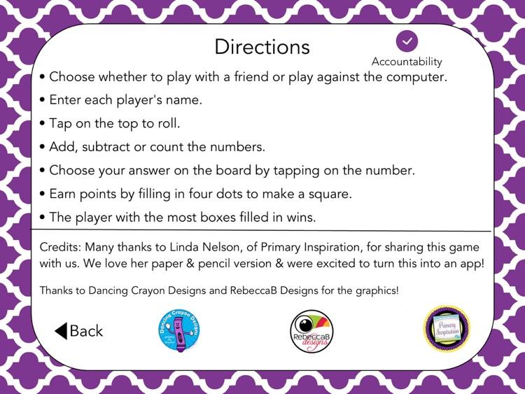 Addition & Subtraction Boxes: School Version screenshot-4