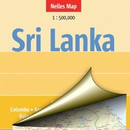 Sri Lanka. Tourist map.