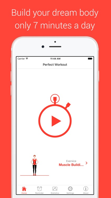 Muscle Building Workout - Your Personal Fitness Trainer for power, endurance and strength