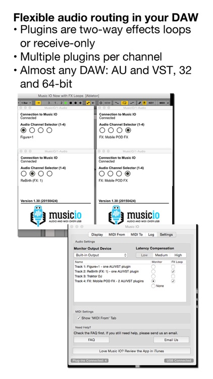 musicIO: Audio and MIDI over USB screenshot-3