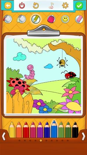 Mewarnai Gambar Musim Bunga Di App Store