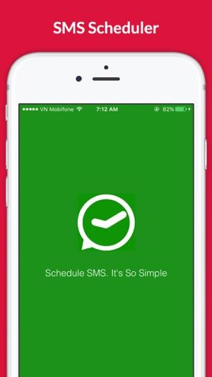 sms scheduler app