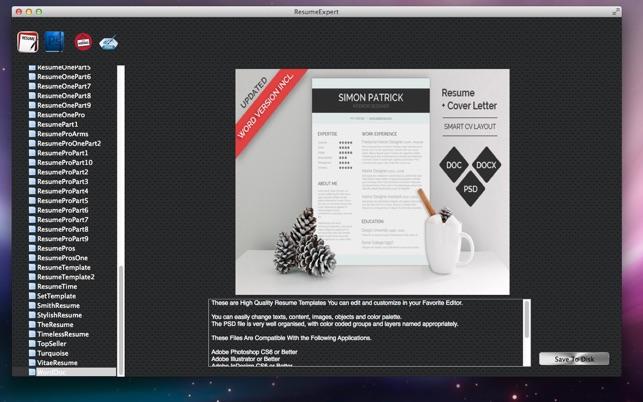Resumeexpert On The Mac App Store