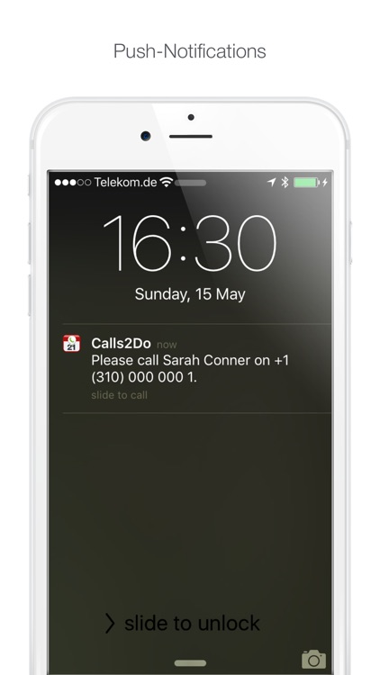 Calls2Do - Call Manager (with back-up to eMail) screenshot-4