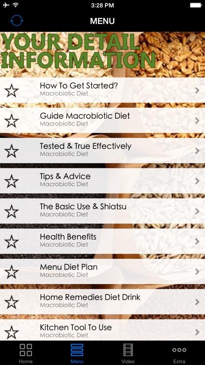 Best Macrobiotic Diet Plan - Easy Follow Up Weight Loss Diet Program for Advanced To Beginners, Start Today! screenshot-4