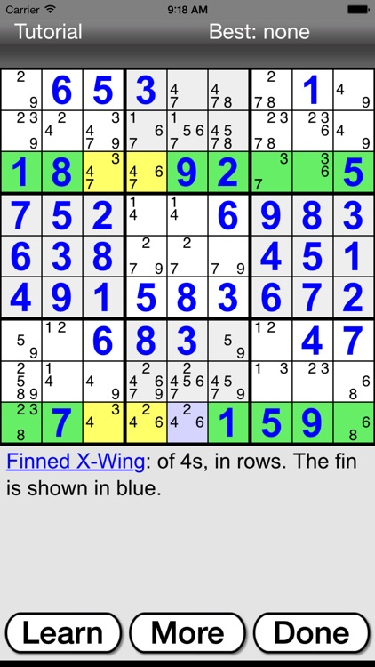 :) Sudoku + screenshot-4