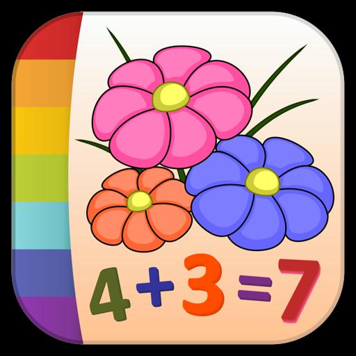 Раскрась по номерам - Цветы - Бесплатно