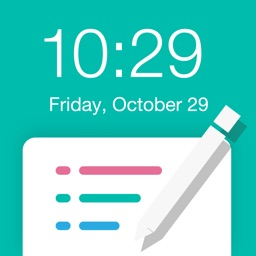 NotePad for Lock screen - Wallpaper Editor for Lock Screen - Reminder for Lock Screen