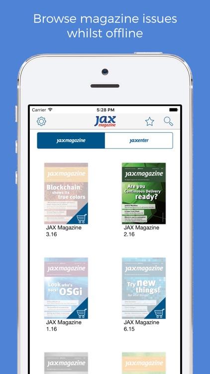 JAX Magazine. screenshot-4