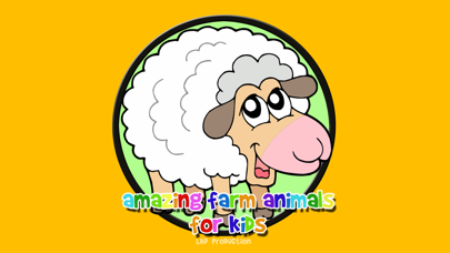 amazing farm animals for kids - free screenshot one