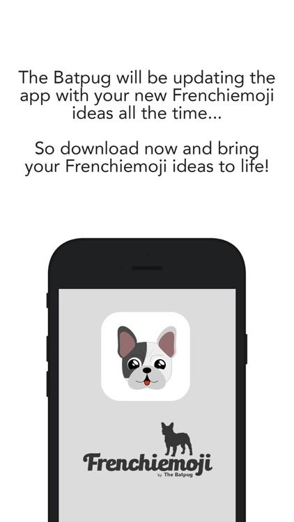 Frenchiemoji Sticker Keyboard by the Batpug screenshot-3