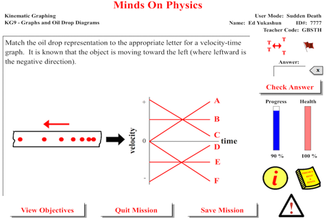 Minds On Physics the App - Part 1 screenshot 3