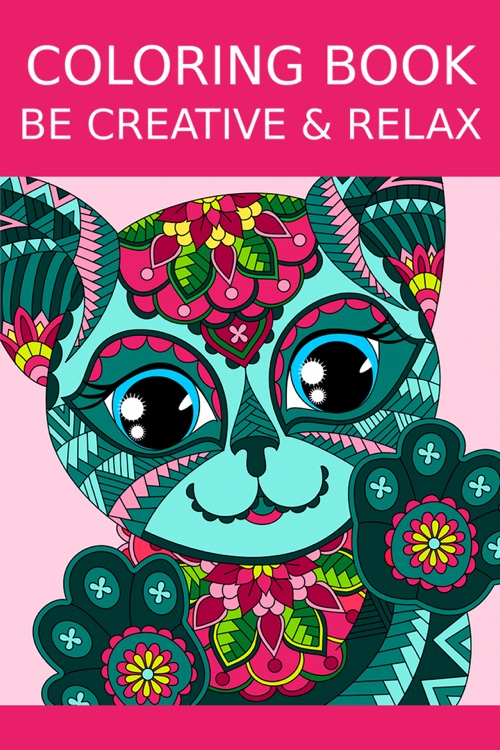 Coloring Book for Adults - Adult Coloring Book