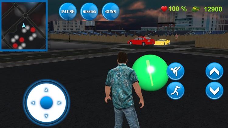 City Gangster Combat the Gun Shot screenshot-3