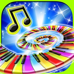 Glow Piano : Free amazing glowing music for kids
