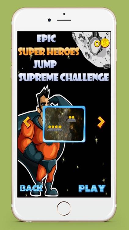 Epic Super Hero Jump