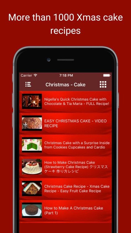 Delicious Christmas Cake Bakery Food Recipe Videos