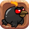 Crazy bird in Happy Forest: Super Sky Flappy Wheels Addicting HD Game