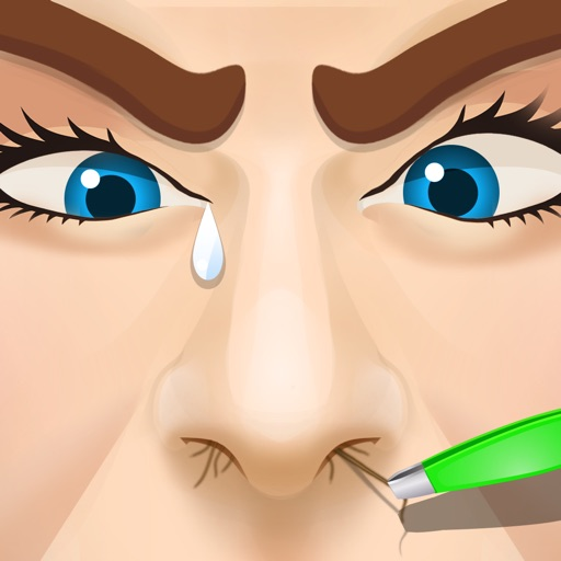 Celebrity Nose Hair Pulling (ad free) icon