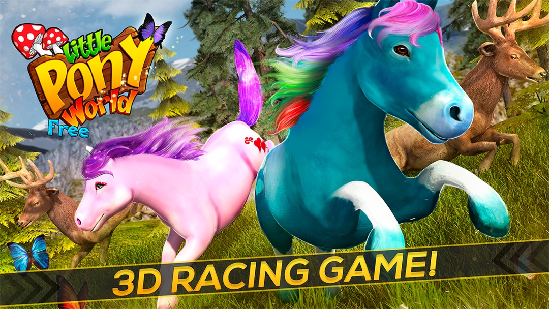 a little pony world full of magic colors free pony game online