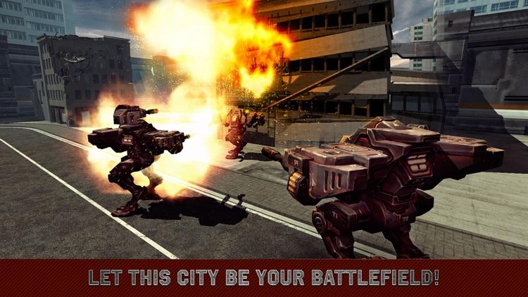 City Mech Battlefield 3D Full