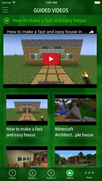 Guide for building house for minecraft pe pocket edition for Home building apps for iphone