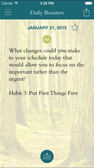 FranklinCovey Living the 7 Habits Screenshot
