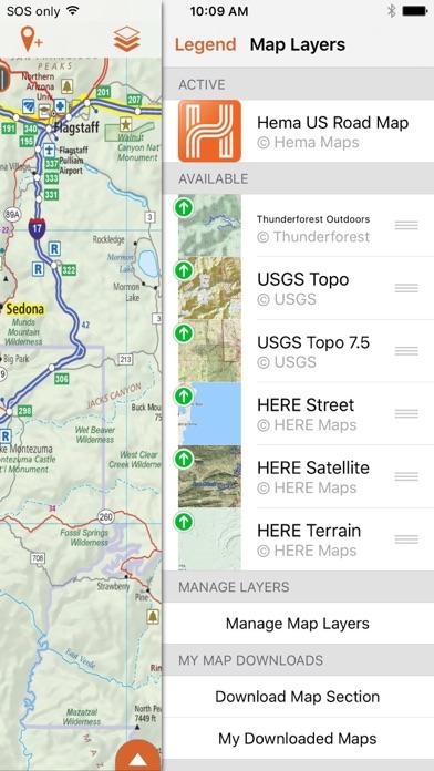 HemaExplorer | North America Off Road Navigation app image
