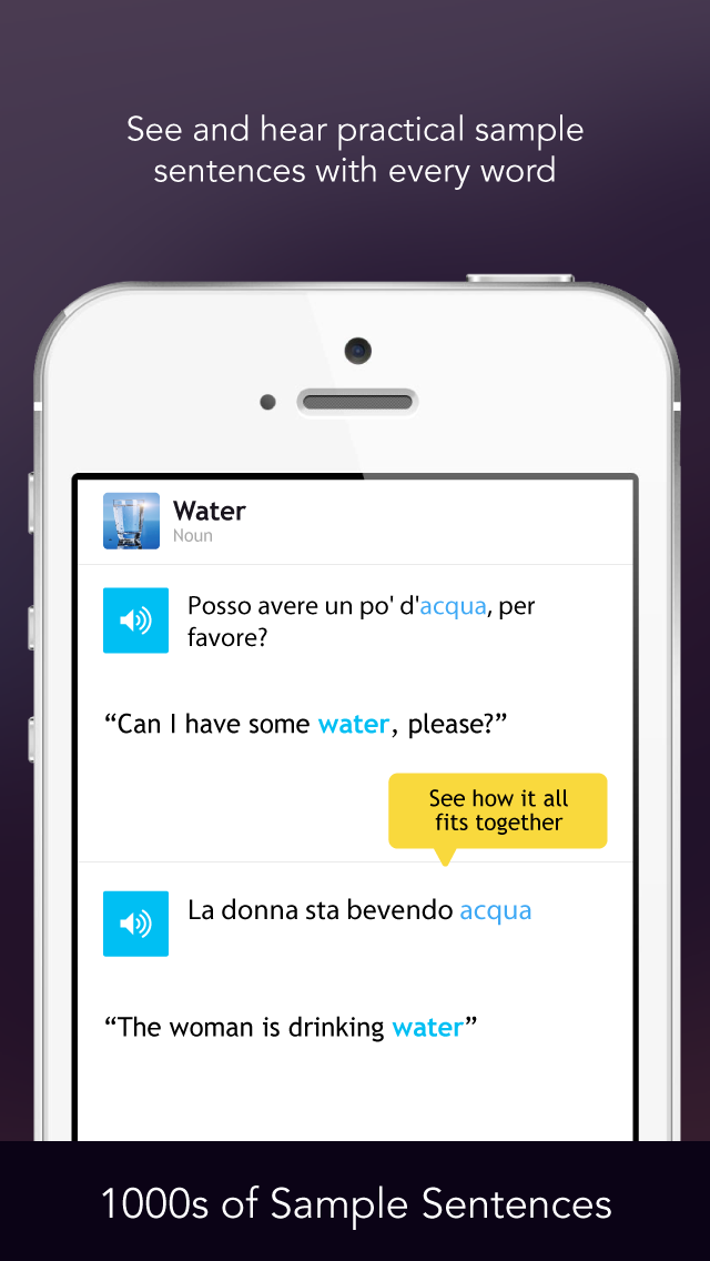 Learn Italian - WordPower screenshot four