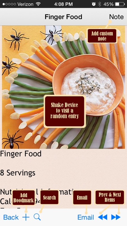Abs Diet Recipes Plus+ screenshot-3