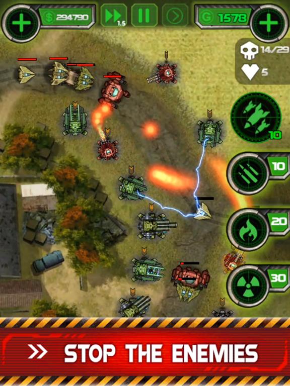 Tower Defense - Civil Warのおすすめ画像3