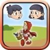 小红帽经典童话故事书  - 宝宝儿童与小朋友互动小游戏