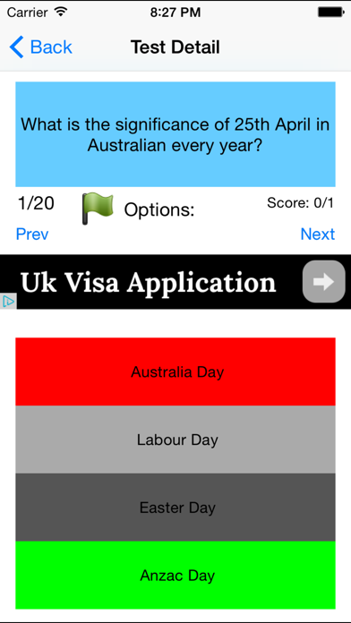 Australian Citizenship Test - Free 480 Questions to practice