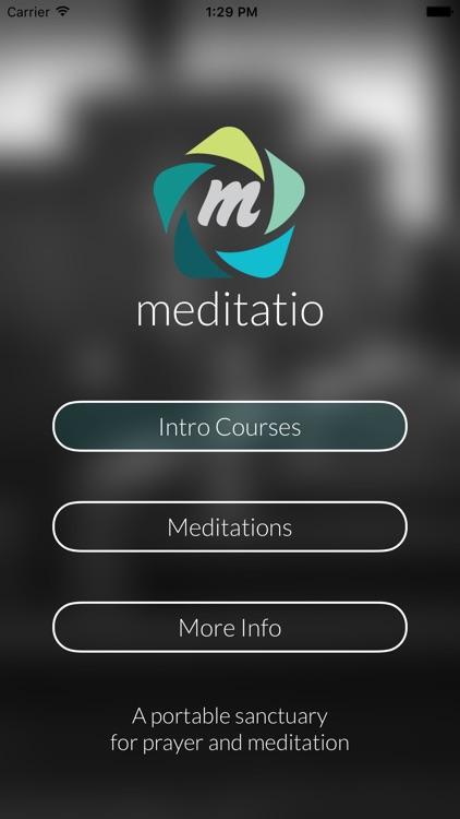Meditatio: A Portable Sanctuary