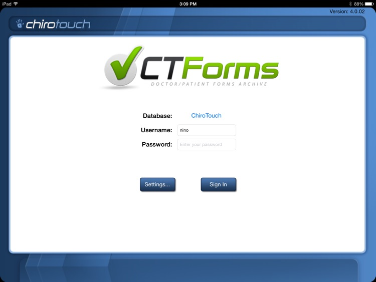 CT Forms Mobile 6.5