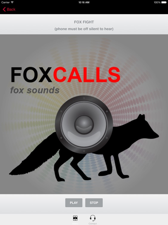 REAL Fox Sounds and Fox Calls for Fox Hunting - BLUETOOTH COMPATIBLE screenshot-3