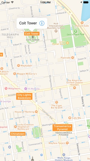 SF Visitor Map San Francisco Tourist Map on the App Store