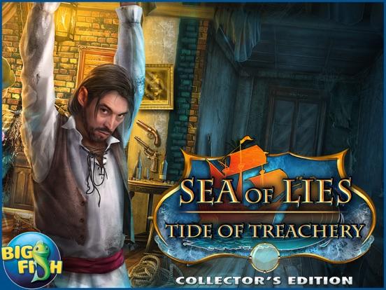 Sea of Lies: Tide of Treachery - A Hidden Object Mystery (Full)のおすすめ画像5