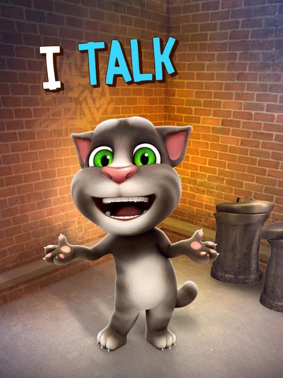 Talking Tom Cat for iPad screenshot-3