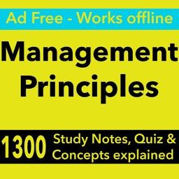 Management Principles Exam Review : 1300 Quiz & Study Notes