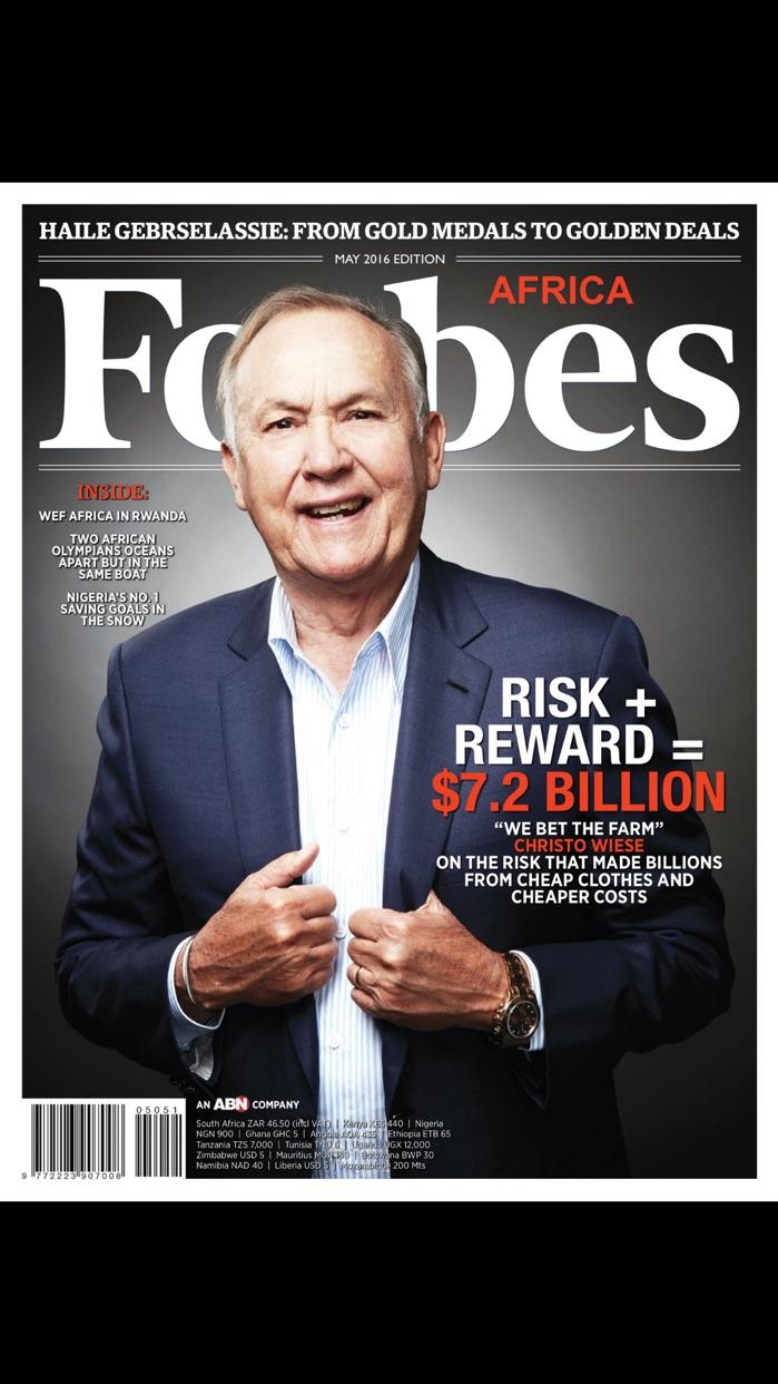 Forbes Africa Screenshot